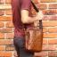 กระเป๋าสะพายไหล่ กระเป๋าถือ กระเป๋าหนังแท้ เหมาะสำหรับใส่ไอแพดและอุปกรณ์พกพาต่างๆ