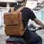 กระเป๋าเป้สะพายหลัง สามารถเปลี่ยนเป็นสะพายข้างและถือได้