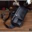 กระเป๋าคาดอก หนัง PU สีดำ | LT16 thumbnail 10
