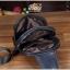 กระเป๋าสะพายไหล่ หนัง PU สีดำ | LT19 thumbnail 14