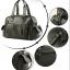 กระเป๋าสะพายข้าง หนัง PU สีดำ | LT23 thumbnail 3
