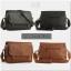 กระเป๋าสะพายข้าง หนัง PU สีดำ | LT11 thumbnail 6