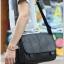 กระเป๋าสะพายข้าง หนัง PU สีดำ | LT11 thumbnail 5