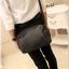 กระเป๋าสะพายข้าง หนัง PU สีดำ | LT15 thumbnail 2