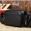 กระเป๋าสะพายข้าง หนัง PU สีดำ | LT29 thumbnail 5
