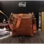 กระเป๋าสะพายข้าง หนัง Crazy Horse PU | LT30 thumbnail 1