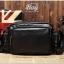 กระเป๋าสะพายข้าง หนัง PU สีดำ | LT29 thumbnail 1