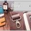 กระเป๋าสะพายไหล่ กระเป๋าคาดอก หนัง PU 4 สี เขียว ครีม เหลือง น้ำตาล | LT24 thumbnail 12
