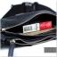 กระเป๋าคาดอก หนัง PU สีดำ | LT13 thumbnail 2