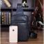 กระเป๋าสะพายไหล่ หนัง PU สีดำ | LT19 thumbnail 13