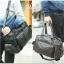 กระเป๋าสะพายข้าง หนัง PU สีดำ | LT23 thumbnail 12