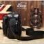 กระเป๋าสะพายข้าง หนัง PU สีดำ | LT29 thumbnail 14