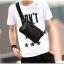 กระเป๋าคาดอก หนัง PU สีดำ | LT13 thumbnail 1