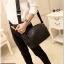 กระเป๋าสะพายข้าง หนัง PU สีดำ | LT15 thumbnail 6