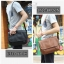 กระเป๋าสะพายข้าง หนัง PU สีดำ | LT11 thumbnail 2