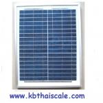 แผงโซล่าเซลล์ พลังงานแสงอาทิตย์ Poly-Crystalline Silicon Solar Cell Module 20W
