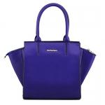 พร้อมส่ง กระเป๋าถือ กระเป๋าสะพายข้าง แบรนด์ Maomao รุ่น M12051 (สีน้ำเงิน)
