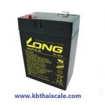 แบตเตอรี่สำหรับอุปกรณ์อิเล็คทรอนิกส์ Long 6v 4ah ELECTRONIC DEVICES BATTERY