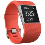Fitbit Surge, Tangerine Large - English
