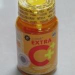 Extra C+ Acorbic Softgel เอ็กซ์ตร้า ซี วิตามินซี 30ซอฟเจล