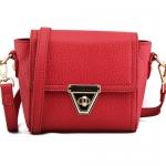 พร้อมส่ง กระเป๋าถือ กระเป๋าสะพายข้าง แบรนด์ Maomao รุ่น M56027 (สีแดง)