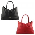 พร้อมส่ง กระเป๋าถือ แบรนด์ Maomao รุ่น M89003 (สีดำ สีแดง)