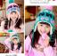 หมวกเด็กใส่กันหนาว 1 แพค มี 6 ใบ สีละ 2 ใบ 3 สี มีสีตามรูปนะคะ thumbnail 1