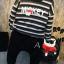 ชุดเซทเสื้อแขนยาว Micky+กางเกง แพค 5 ชุด ขนาด 100-140 thumbnail 1