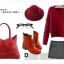 พร้อมส่ง กระเป๋าถือ แบรนด์ Maomao รุ่น M89003 (สีดำ สีแดง) thumbnail 13