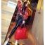 พร้อมส่ง กระเป๋าถือ แบรนด์ Maomao รุ่น M89003 (สีดำ สีแดง) thumbnail 10