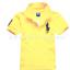 เสื้อยืดPolo สีเหลืองอ่อน แพค 4 ตัว ขนาดเด็ก 5-9 ปี thumbnail 1