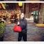 พร้อมส่ง กระเป๋าถือ แบรนด์ Maomao รุ่น M16127 (สีดำ สีส้ม สีฟ้า สีแดง) thumbnail 11