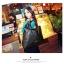 พร้อมส่ง กระเป๋าถือ แบรนด์ Maomao รุ่น M89003 (สีดำ สีแดง) thumbnail 3