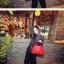 พร้อมส่ง กระเป๋าถือ แบรนด์ Maomao รุ่น M16127 (สีดำ สีส้ม สีฟ้า สีแดง) thumbnail 13