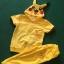 ชุดปิกาจู 2 ชิ้น เสื้อ+กางเกง ผ้าเด้ง แพค 5 ชุด ขนาด 90-130 thumbnail 2