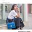 พร้อมส่ง กระเป๋าถือ กระเป๋าสะพาย แบรนด์ Maomao รุ่น m90060 (สีฟ้า) thumbnail 2