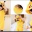 ชุดปิกาจู เป็นชุดบอดี้สูท สำหรับเด็ก 1-3 ปี แพค 6 ชุด 3 size (90/100/110) sizeละ 2 ชุด thumbnail 1