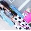 พร้อมส่ง กระเป๋าถือ แบรนด์ Maomao รุ่น M35020 สีชมพู thumbnail 2