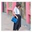 พร้อมส่ง กระเป๋าถือ กระเป๋าสะพาย แบรนด์ Maomao รุ่น m90060 (สีฟ้า) thumbnail 5