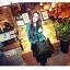 พร้อมส่ง กระเป๋าถือ แบรนด์ Maomao รุ่น M89003 (สีดำ สีแดง) thumbnail 4