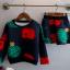 เสื้อ+กระโปรง สีน้ำเงิน งานสวย แพค 5 ชุด ขนาด100-140 *พร้อมส่ง* thumbnail 3