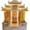 ศาลเจ้าที่จีน 27 นิ้ว 5 หลังคา เขามังกร พ่นทอง