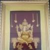 กรอบรูปทองเค พระพิฆเนศ ขนาดกว้าง 10 นิ้ว สูง 10 นิ้ว