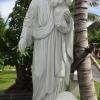พระเยซูต์คริสต์หินอ่อนแกะสลัก สูง1.50เมตร