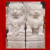 สิงโตปักกิ่งแกะสลักจากหินอ่อน ขนาดสูง 50 cm