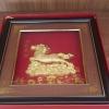 กรอบรูปทองเค ม้าสวรรค์ ขนาดกว้าง 10 นิ้ว สูง 10 นิ้ว