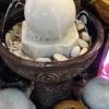 หินหมุนมงคล+อ่างน้ำกลม ชุดใหญ่