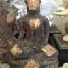 พระศิลาแลงอัด พระบูชาสมัยสุโขทัย ขนาดสูง 9 นิ้ว หน้าตักกว้าง 8 นิ้ว