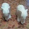 ช้าง หิน อ่อน 1 คู่