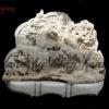 หน้าผาหิน อ่อน แกะ สลักสูง100เซนติเมตร